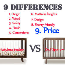 babyletto hudson vs oeuf sparrow babyletto furniture