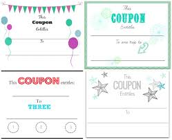 make your own christmas coupons printables home is where happy coupon minting