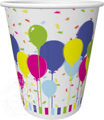 Купить <b>Стаканы</b> одноразовые Duni <b>Balloons</b> and Confetti 10шт ...