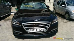 new car launches in chennai2015 Hyundai Genesis Spotted In Chennai India Launch Possible