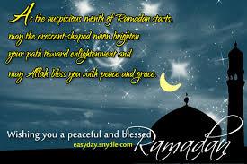 Ramadan Mubarak, Ramadan Quotes, Messages and Ramadan Wishes | Easyday