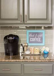 view in gallery small coffee station on a kitchen countertop unique diy coffee station