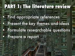 ip revision by kathryn davies part 1 the literature review
