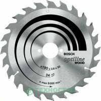 <b>Диск пильный Bosch 230х30мм</b> 48зубьев Optiline Wood (2.608 ...