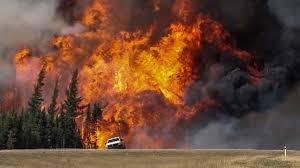 Kanada'daki yangın 2 ay sürdü