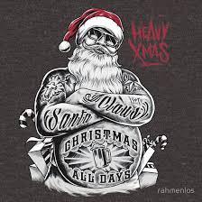 '<b>HEAVY Xmas</b> Santa Claus <b>Christmas</b> all days' Essential T-Shirt by ...