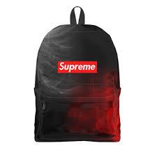 Рюкзак 3D <b>Supreme</b> #2860388 – рюкзаки с принтами в Москве от ...