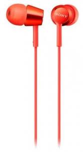 <b>Наушники Sony MDR-EX155R</b>.E red наушники динамические ...
