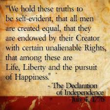 Image result for declaration of independence