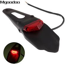 <b>Mgoodoo</b> Universal <b>Motorcycle LED</b> Stop Brake Rear Tail Light ...