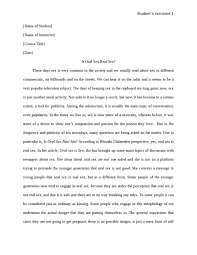 is oral sex real sex psychology essay   studentshare is oral sex real sex essay example