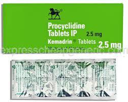 Procylidine Kemadrin ® كيمادرين، ويلكوم/ويلكم، أبو حصان