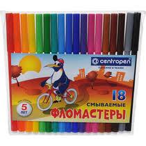 <b>Фломастеры Centropen Пингвин</b> 18 цветов купить с доставкой по ...