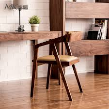 the japanese black walnut wood dining chair upholstered chair desk chair coffee restaurantchina ch177 natural side chair walnut ash
