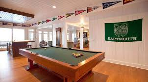pool table room decor picture