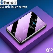 Original metal MP3 player <b>Bluetooth</b> 5.0 touch screen <b>2.4 inch</b> built ...