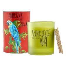 <b>Свеча ароматическая AMBIENTAIR Parrot</b> Цитрусовый Wild, 40 ч ...