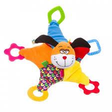 <b>Погремушка Bondibon</b> Развивающая игрушка Собака ВВ1294 ...