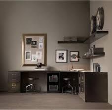 1940s industrial modular office double corner desk system carruca desk office