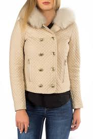 Кожаная <b>куртка MIO CALVINO</b> арт MIOAK10013W_BEIGE BEIGE ...