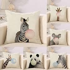 <b>6 pcs</b> Cotton / Linen Pillow Cover Pillow Case, Special Design ...