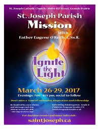 st joseph parish mission catholic archdiocese of grouard mclennan event navigation
