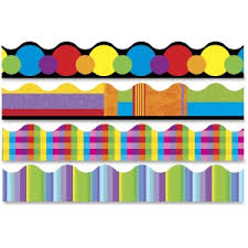 trend color collage terrific themed trimmer variety pack tep92908 bulletin board design office