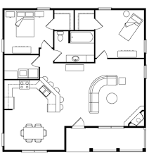Trout Creek   Log Homes  Cabins and Log Home Floor Plans    Trout Creek