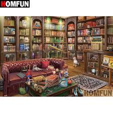 Online Shop <b>HOMFUN 5D DIY Diamond</b> Painting Full Square ...