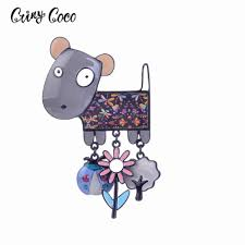 <b>Cring Coco 2019 New</b> Vintage Owls Brooches for Women Girl ...