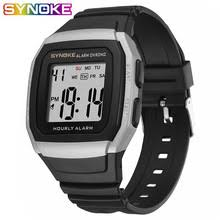 SYNOKE <b>Men</b> Digital <b>Watch Sports</b> Multi-Function Life Waterproof ...