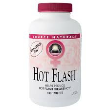 <b>Hot Flash</b> with Non-GMO Soy (<b>180</b> Tablets) by Source Naturals at ...