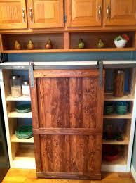 kitchen reclaimed barn door