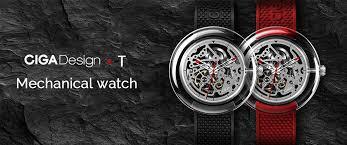 <b>Механические часы Xiaomi CIGA</b> T-Series Mechanical Watch ...