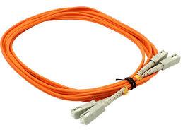 Сетевой кабель <b>VCOM</b> Optical <b>Patch</b> Cord <b>SC SC UPC</b> Duplex 3m ...