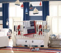 decor red blue room full: nautical baby room ideas great baby nursery room idea with nautical decoration theme using white