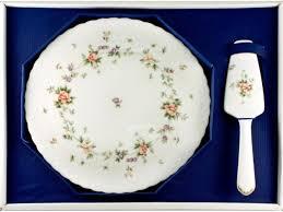 <b>Набор для торта</b> Narumi <b>Воспоминание</b> блюдо 29.5см и лопатка ...