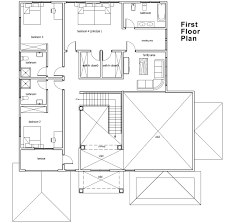 Ghana House Plans   Naanorley House PlanNaanorley House Plan