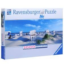 <b>Ravensburger Пляжные корзинки</b> на Зюльте. <b>Пазл</b> панорамный ...