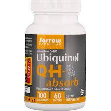 Jarrow Formulas, <b>Ubiquinol</b>, <b>QH-Absorb</b>, <b>100 mg</b>, 60 Softgels ...