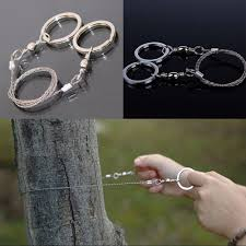 1pc <b>Field Survival Stainless Wire</b> Saw Hand Chain Saw Cutter ...