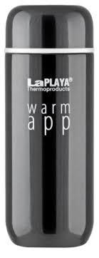 Купить <b>Термокружка LaPlaya</b> Warm App (0,2 л) black по низкой ...