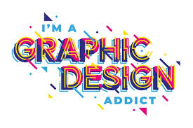 Free Vector | <b>Graphic design addict</b> geometric lettering