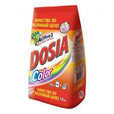 <b>Стиральный порошок DOSIA COLOR</b> 1,8кг — купить в интернет ...