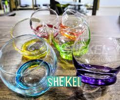 Bohemia Crazy <b>цветные стаканы</b> для сока и виски 390мл <b>набор</b> 6 ...