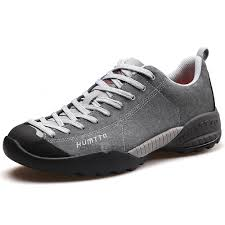 HUMTTO Men <b>Leather Sneakers</b> Outdoor Climbing Camping <b>Non</b>