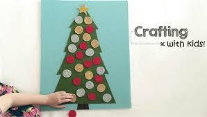 Crafting with Kids: <b>Felt Christmas Tree</b> Play Board | Rocket City Mom