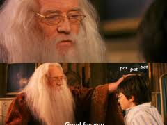 Condescending Dumbledore Meme | WeKnowMemes via Relatably.com