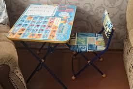 Обзор от покупателя на Комплект <b>Nika</b> (<b>Ника</b>) <b>Умничка</b> стол, стул ...