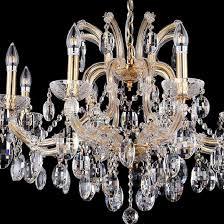 Подвесная <b>люстра Crystal lux HOLLYWOOD</b> SP8 GOLD (, стиль ...